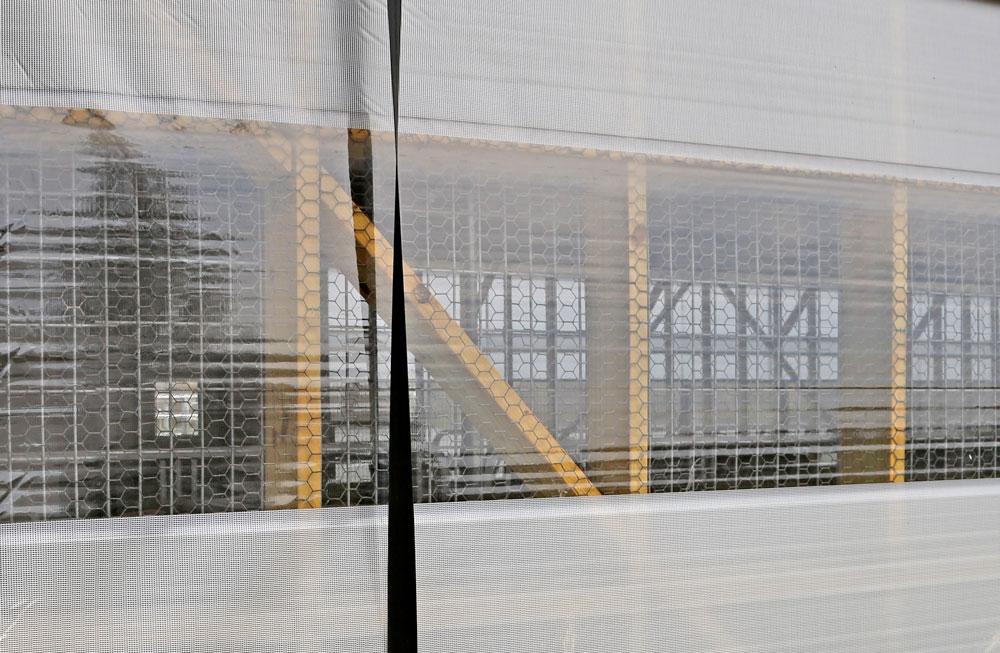 Clear View Curtain High Detail